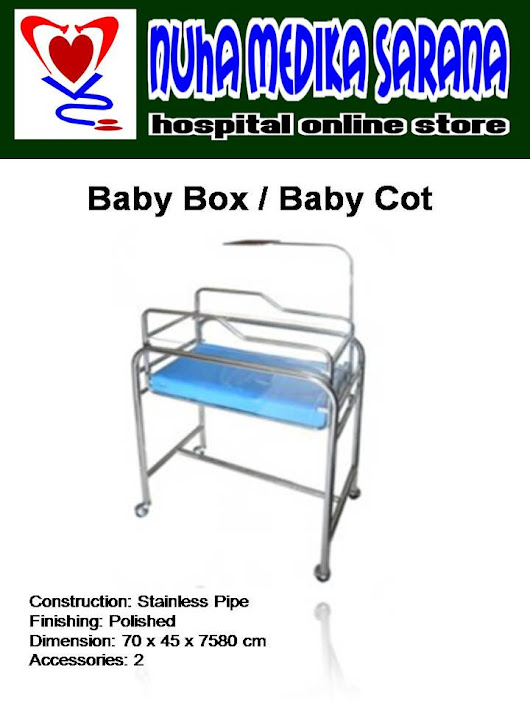 BABY COT / BABY BOX STAINLESS