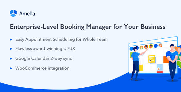 Amelia v3.0.2 - Enterprise-Level Appointment Booking