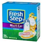 Fresh Step 30468 Multi-cat Litter, 25 Lb