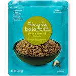 Garlic & Olive Oil Quinoa Microwaveable Pouch 8oz - Simply Balanced