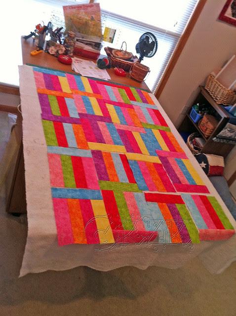 IMG_4043 Fruit Stripe Gum quilt