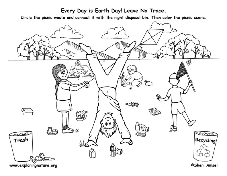 Early Play Templates Earth Day Activity Sheets Coloring Home