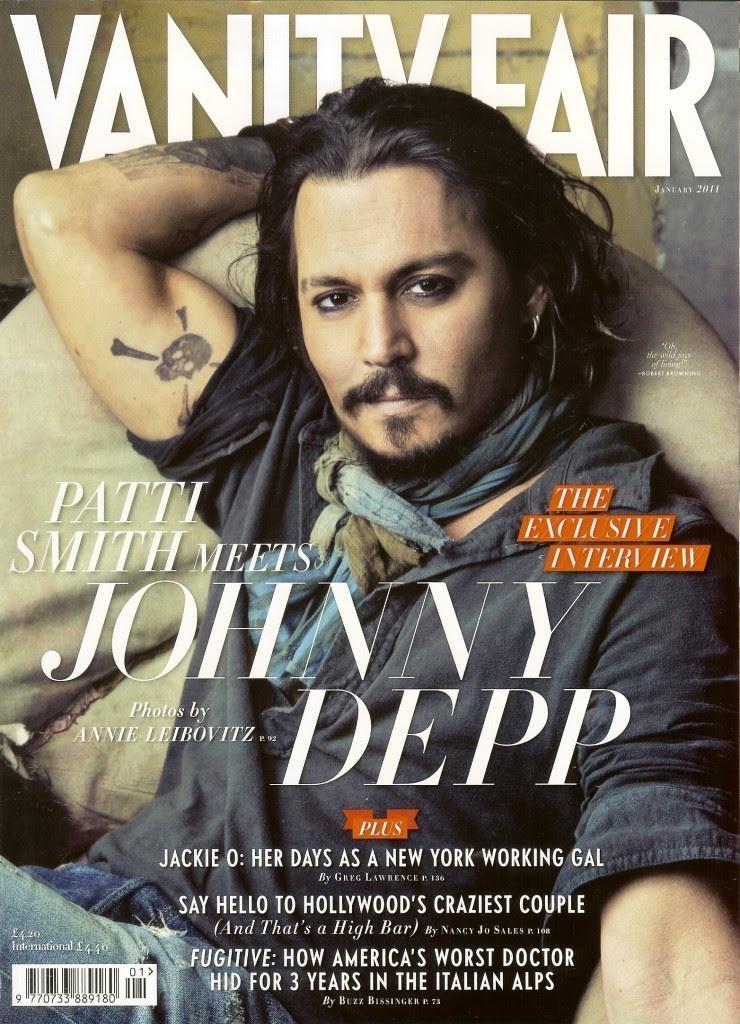 johnny depp 2011. johnny depp- UK Vanity Fair