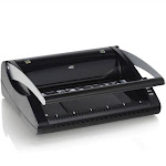 "GBC ProClick P110 Manual Binding Machine - ProClick, CombBind - 10"" x 18"" x 14"" - Gray"