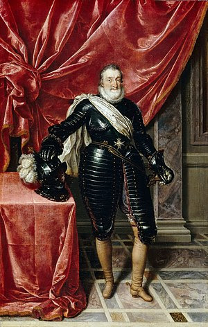 Henry IV, King of France in Armour, c. 1610 (L...