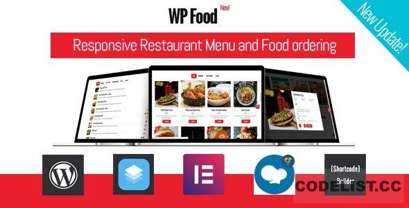 WP Food v2.5 - Restaurant Menu & Food ordering