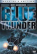 Blue Thunder film - DVD cover