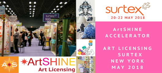 ArtSHINE @ SURTEX in New York May 2018 - ArtShine