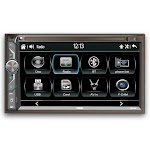 6.9 inch Touchscreen Double-Din Headunit w/ Bluetooth, UBS and Mirror Link