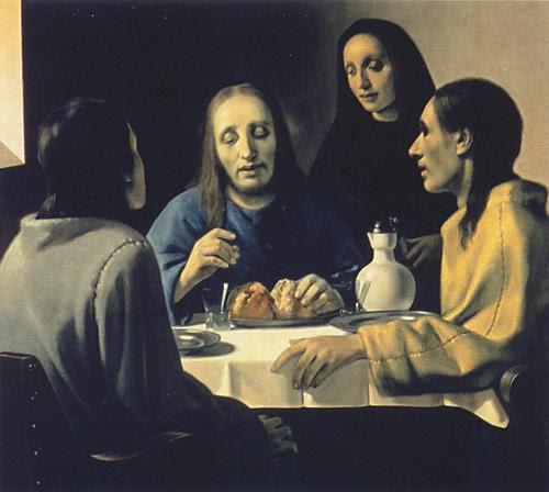 lukisan Vermeer oleh Han van Meegeren