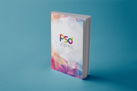 Free Book Cover Mockup PSD | PSD Graphics