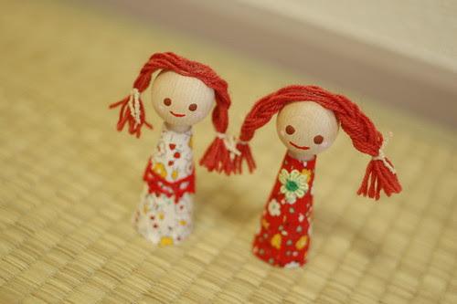 Her dolls