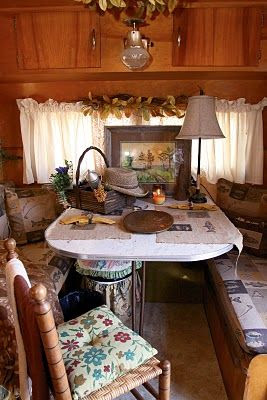 "Southern ""Sisters on the Fly"" Camper interior"
