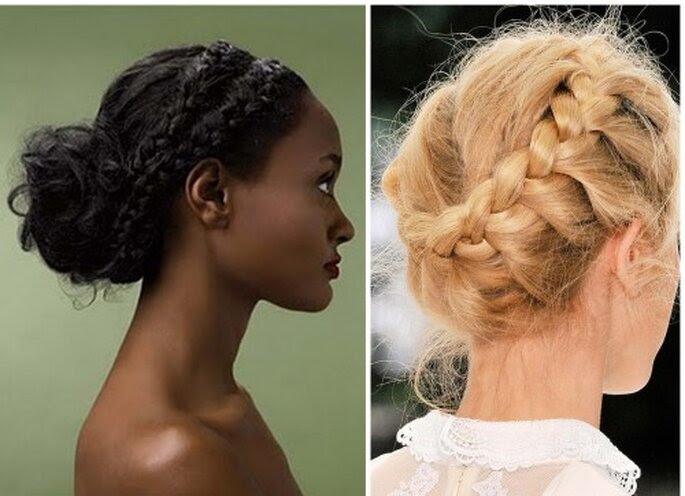 Photos via Martha Stewart Weddings and Vogue