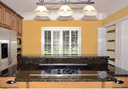Kitchen Cooktop Area Stock Photo - Image: 55271093