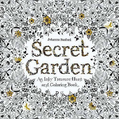 ヨーロッパを中心に日本でも人気の大人塗り絵secret Garden 大人の