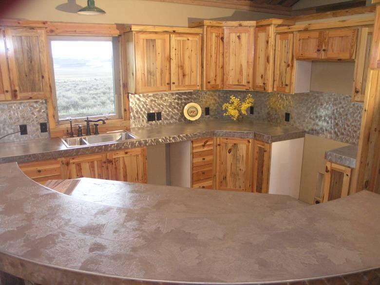 Photo 4310 Southern Yellow Pine Kitchen Cabinets