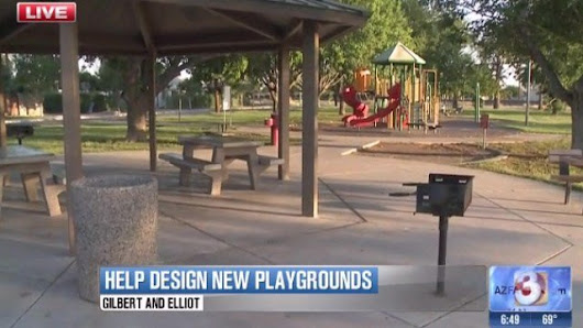 Gilbert asks residents to help plan new playgrounds
