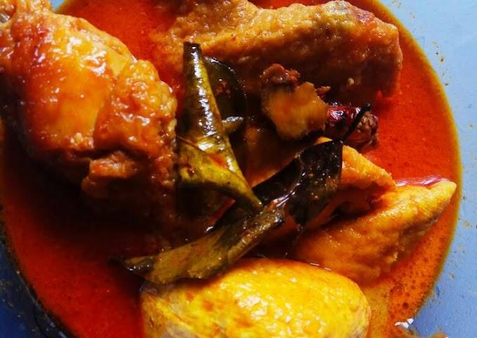 Resep Mudah Gulai Ayam Tahu Bumbu Racik Desaku Gampang Banget