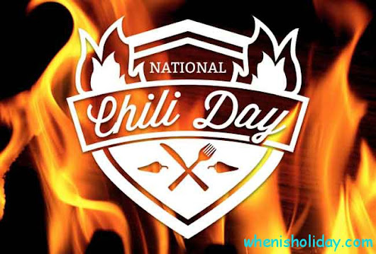 Image result for national chili day 2018
