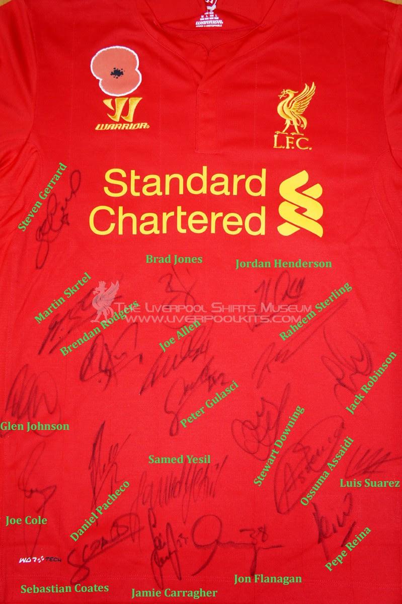 Liverpool Fc Players Autographs