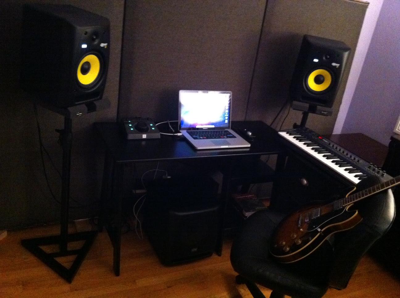 Image Result For Bedroom Recording Studio