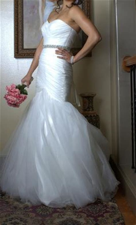 Mori Lee Blu Style 5108, $450 Size: 8   Used Wedding Dresses
