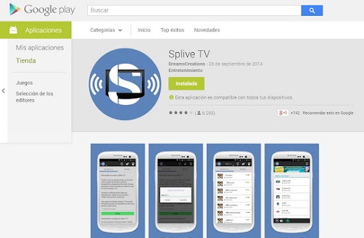 Tutorial Splive TV con listas de canales incluidas