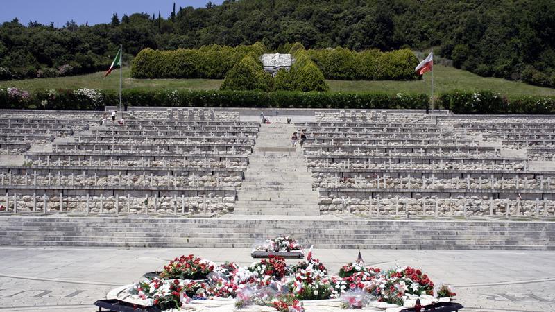 Monte Cassino, cmentarz polskich żołnierzy