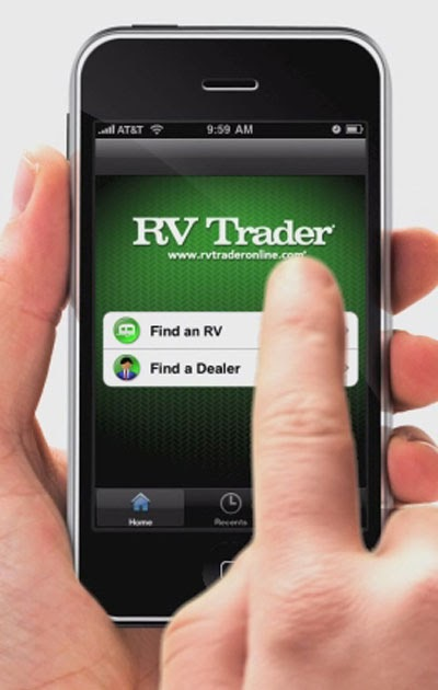 RV Trader iPhone Application Puts 45 000 New and Used RVs