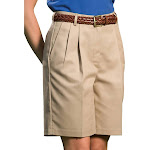 Edwards Garment Women's Classic Fit Pleated Short, Style 8419