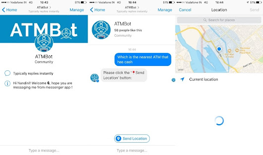 This ATM chatbot on Facebook Messenger will show cash availability in the nearest ATMs; here's how it works