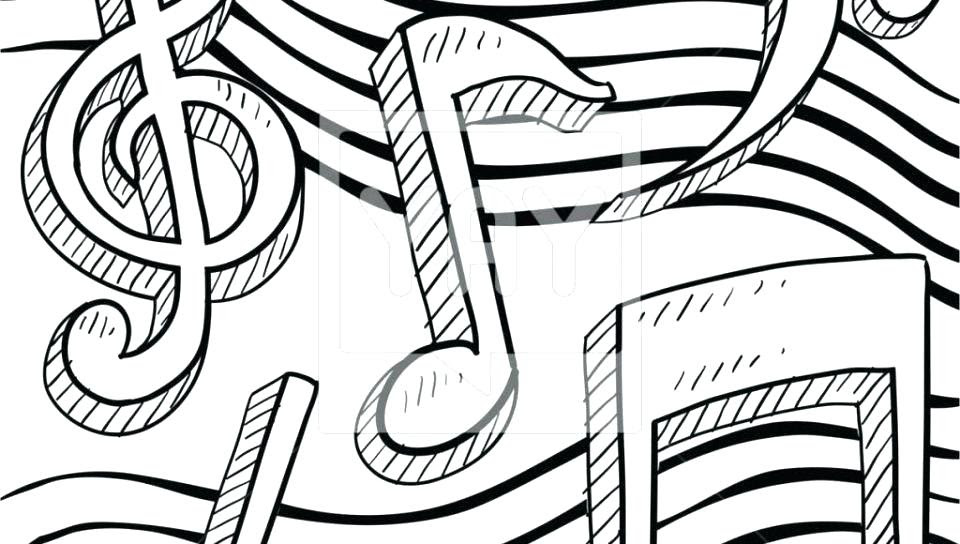 - Coloring Pages Kids: Music Note Coloring Sheet
