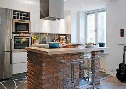 Cocinas Modernas Pequeñas Para Apartamentos