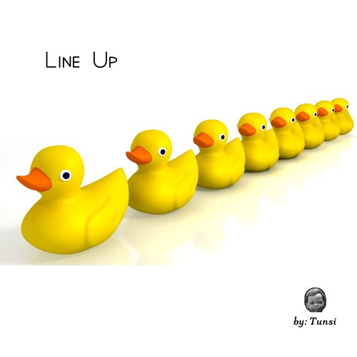 Line Up by Tunsi