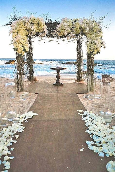 39 Gorgeous Beach Wedding Decoration Ideas   Wedding