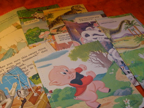 Handmade Bags with Vintage Children's Books