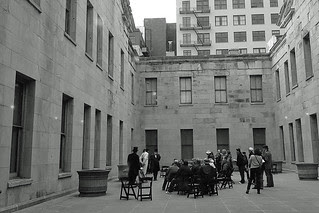 Old United States Mint in San Francisco - Courtyard