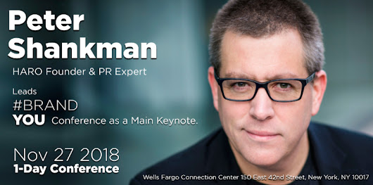 Peter Shankman Sneak Peek of What He Will Deliver at #BRAND #YOU