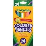 Crayola Colored Pencils, Long, 24 Ct