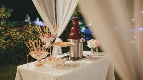 How Much Does a Chocolate Fondue Fountain Rental Cost   Prices