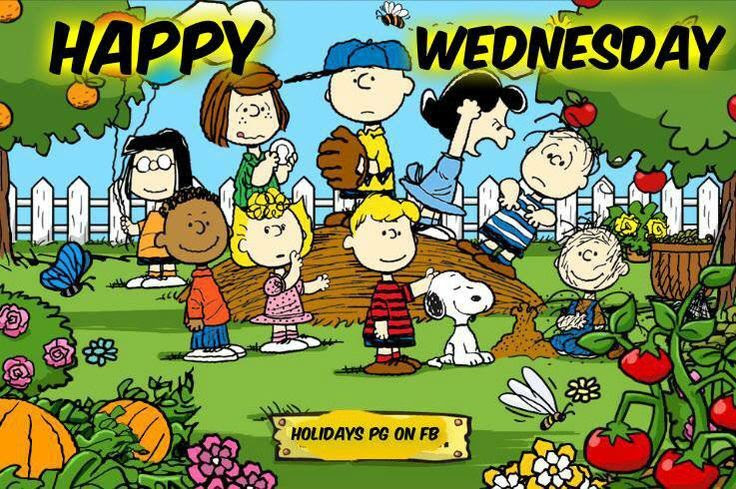 Peanuts Gang Happy Wednesday Pictures Photos And Images For