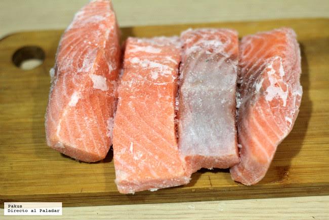 Salmon Iced
