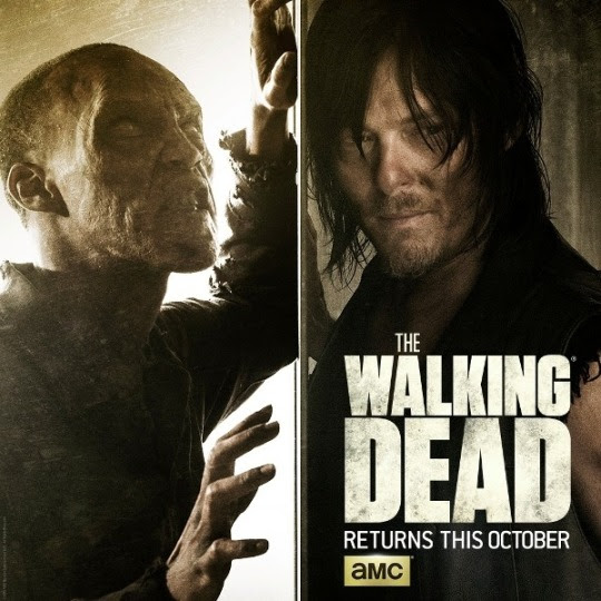 Awesome new teaser posters for season 6 of AMC's The Walking Dead! Returns Sunday, October 11th!
