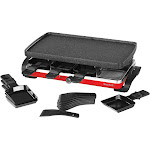 The Rock by Starfrit 024403-002-0000 The Rock Raclette-Party Grill Set