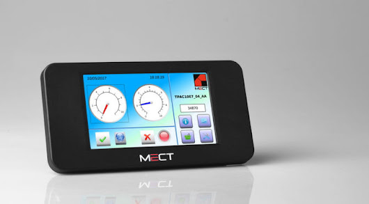 PLC con HMI Monitor Touch-Screen TPAC1007 | MECT