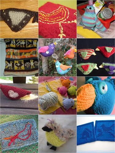 monday mosaic : birds :: fuglesang