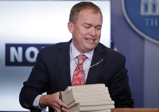 Mick Mulvaney says Obama had 'secret' list of proposed regulations