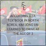 Kim Jong Un learned to drive at the age of 3