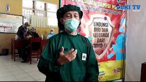 Pelaksanaan Vaksinasi tahap II di desa Sukasari Kecamatan Karang tengah Cianjur